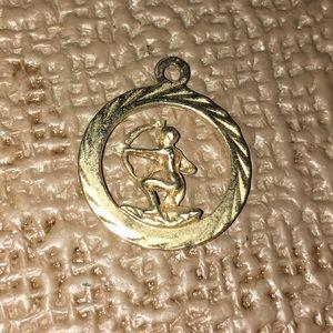 Jewelry - Gold Jewelry Necklace Pendant Cupid Arrow
